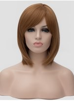 Clearance Sale Synthetic Hair Straight Capless Wig 12 Inches