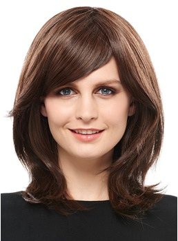 COSCOSS® Sweet Medium Straight Synthetic Hair Capless Wig