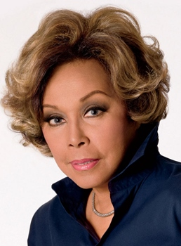 Diahann Carroll Short Wave Human Hair Lace Front Wigs