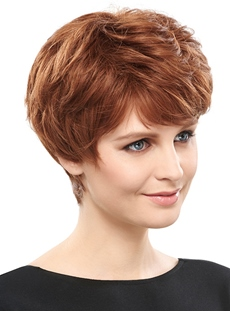 COSCOSS®Delicate Short Straight Synthetic Hair Capless Wig