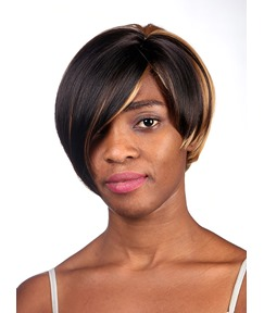 COSCOSS® Fashionable Short Straight Capless Synthetic Hair Wig 10 Inches