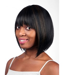COSCOSS®Meidum Straight Capless Synthetic Hair Wig 12 Inches