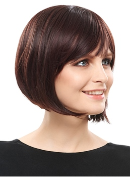 COSCOSS® Super Sweet Bob Hairstyle Synthetic Hair Caples Wig