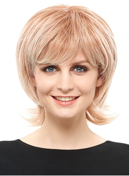 COSCOSS®Fashionable Short Wavy Capless Synthetic Wig