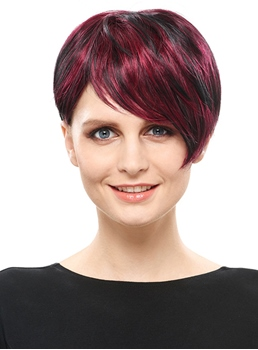 COSCOSS® Special Short Straight Synthetic Hair Capless Wig