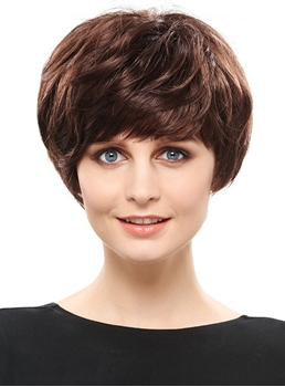 COSCOSS® Dynamic Short Straight Synthetic Hair Capless Wig