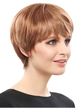 COSCOSS®Modern Short Straight Graceful Synthetic Hair Capless Wig