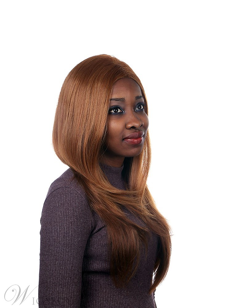 Long Wavy Synthetic Hair Capless Wig For Black Women 15.83
