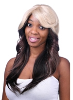 COSCOSS® Long Wavy Capless Synthetic Hair Wig 22 Inches
