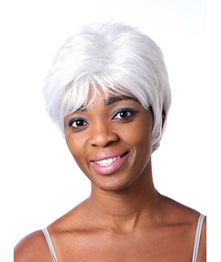 COSCOSS® New Short Straight Capless Synthetic Hair Wig 10 Inches