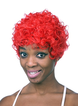 COSCOSS® Special Short Curly Capless Synthetic Hair Wig 10 Inches