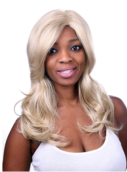 COSCOSS® Long Wavy Synthetic Hair Wig 22 Inches