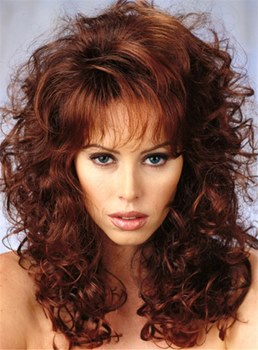 New Arrival Long Curly Synthetic Capless Hair Wigs 20 Inches