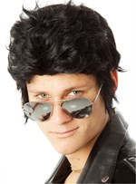 Elvis Presley Short Layered Synthetic Capless Wigs