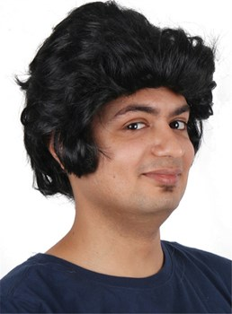 Elvis Presley Short Wave Synthetic Capless Wigs