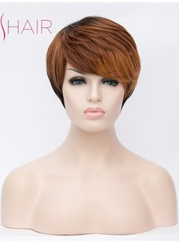 Layered Hairstyle Synthetic Hair Short Capless 10 Inches