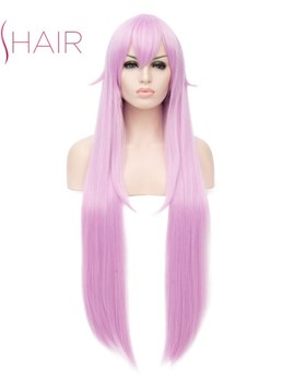 Cosplay Wig Synthetic Wavy Hair 32 Inches Capless Women Wig