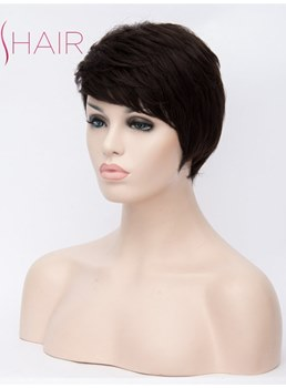 Boy Cut Hairstyle Synthetic Hair Straight Capless Wig