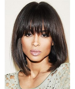 Ciara Medium Straight Capless Human Hair Wig 14 Inches