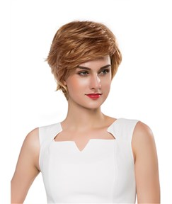 Mishair® New Layered Short Straight Capless Human Hair Wig 10 Inches