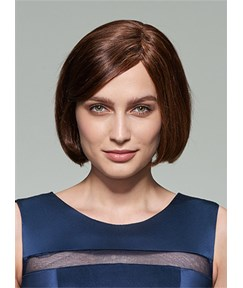 Mishair® New Cute Short Straight Capless Human Hair Wig 10 Inches