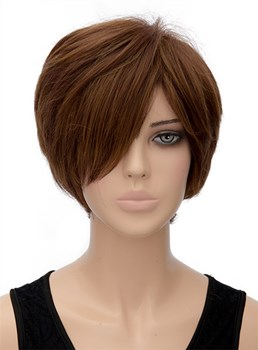 New Arrival Short Straight Capless Synthetic Hair Wig 8 Inches