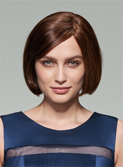 Mishair® New Cute Short Straight Capless Human Hair Wig 10 Inches 12253609