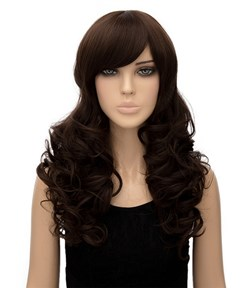 Graceful Long Wavy Capless Synthetic Hair Wig 20 Inches