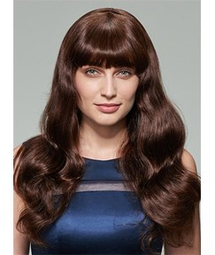 Mishair® Long Big Wave 100% Human Hair Capless Wig 20 Inches