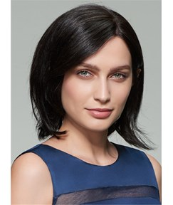 Mishair® Medium Straight Capless Bob Human Hair Wig 12 Inches