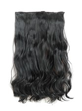 One Piece corpo onda sintetico Clip In Hair Extension