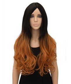 Hot Long Wavy Capless Synthetic Hair Wig 26 Inches for Cosplay
