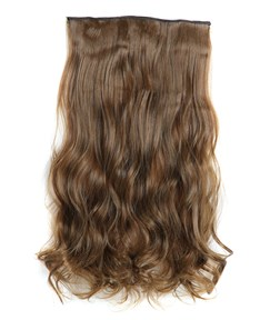 6# Synthetic Long Wave One Piece Clip In Hair Extension 24 Inches
