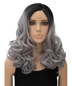 Attractive Long Wavy Capless Synthetic Hair Wig 18 Inches for Cosplay