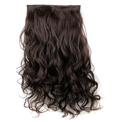 2/33 Mix Color One Piece Clip In Hair Extension Synthetic Material 24 Inches
