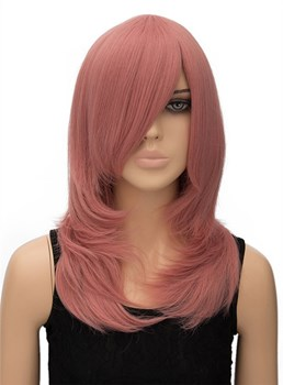 Unique Long Straight Synthetic Hair Wig for Cosplay