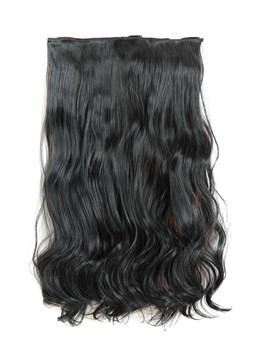 One Piece Body Wave synthétique Clip en Extension de cheveux
