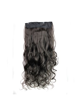 2 #HT long Wave One Piece Clip synthétique en Extension de cheveux 24 pouces
