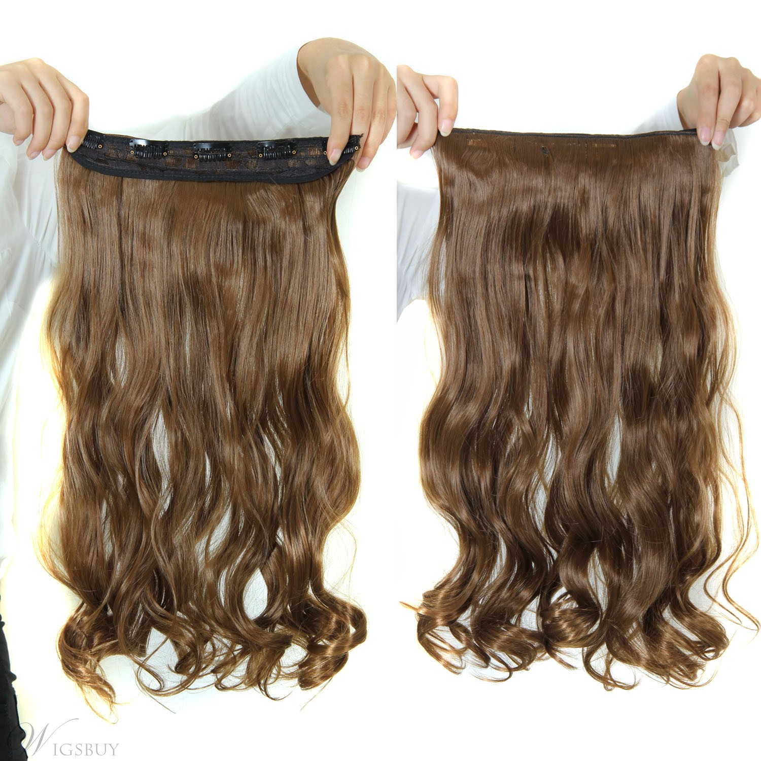6 synthetic long wave one piece clip in hair extension 24 inches 30 6 synthetic long wave one piece clip in hair extension 24 inches pmusecretfo Images