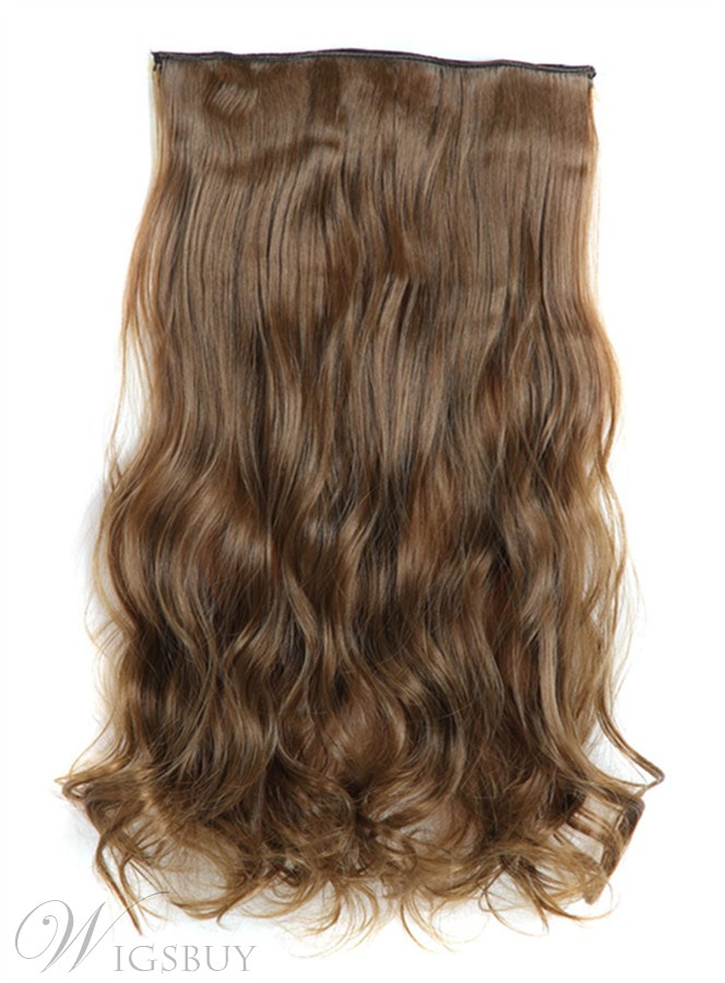 6 synthetic long wave one piece clip in hair extension 24 inches 6 synthetic long wave one piece clip in hair extension 24 inches pmusecretfo Gallery