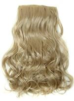 Long Wavy Clip In Synthetic Hair Extensions 7 PCS 24 Inches