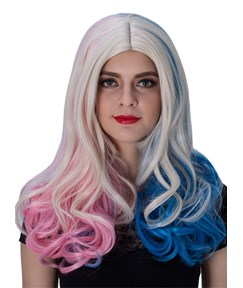 Unique Color Long Wavy Capless Synthetic Hair Wig 22 Inches