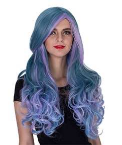 Cosplay Long Wavy Capless Synthetic Hair Wig 26 Inches