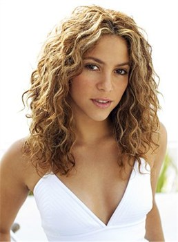 Elegant Medium Curly Lace Front Human Hair Wig 14 Inches