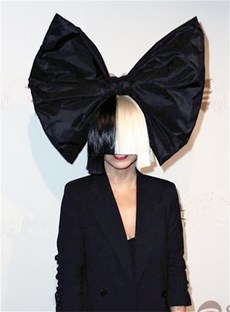 Sia Short Half Blonde and Black Straight Cosplay Synthetic Capless Hair Wigs 12 Inches
