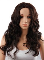 Aisi® Long Wavy Capless Synthetic Hair Wig 26 Inches