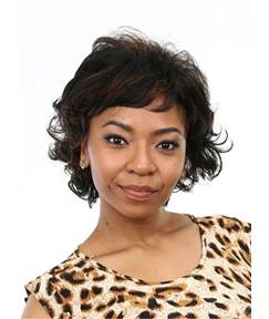 Aisi® Cute Short Curly Capless Synthetic Hair Wig 10 Inches