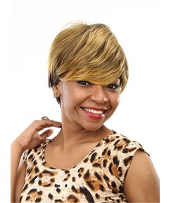 Aisi® Short Straight Capless Synthetic Hair Wig 10 Inches