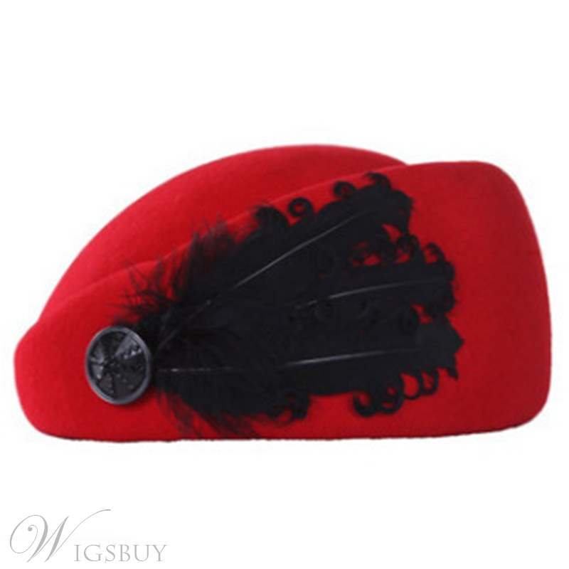 Feather Hat For Women