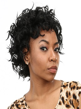 Aisi® New Short Curly Capless Synthetic Hair Wig 10 Inches